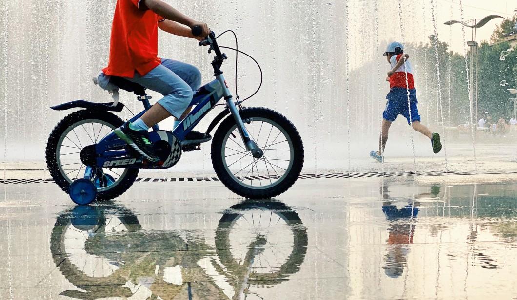 Stock fiets mobiliteit